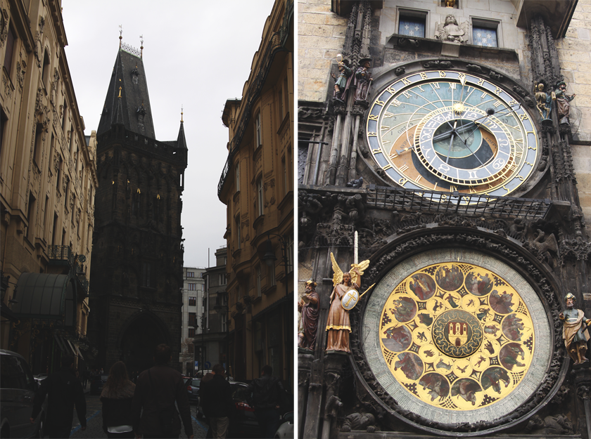 Old City Prague: Astronomic watch & gate