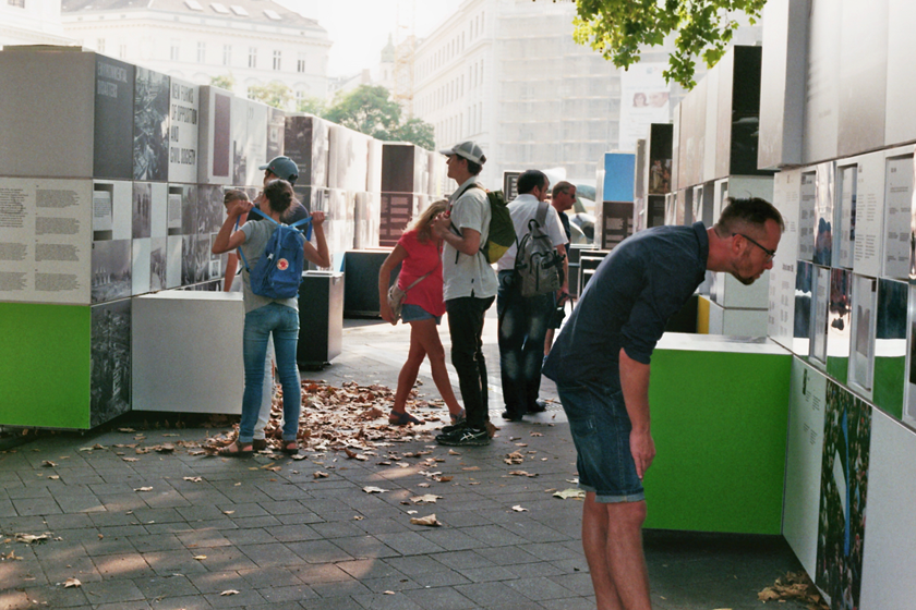 Exhibition Karlsplatz
