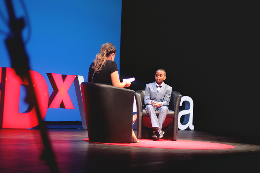 Our youngest speaker Joshua Beckford is a truly remarkable kid. Being only 11 he is already an Oxford student. I'll link you the talk when it's online.