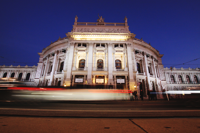 Burgtheater Long Exposure