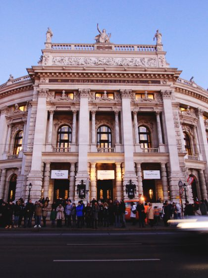 Burgtheater Wide Angle Vienna